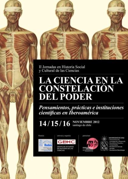 Programa Segundas Jornadas en Historia Social y Cultural de las Ciencias - Noviembre de 2012